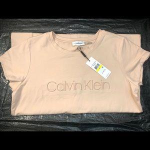 Calvin Klein Blush Pink Tee.